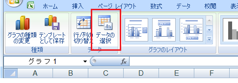 Excel2007で補間してプロット