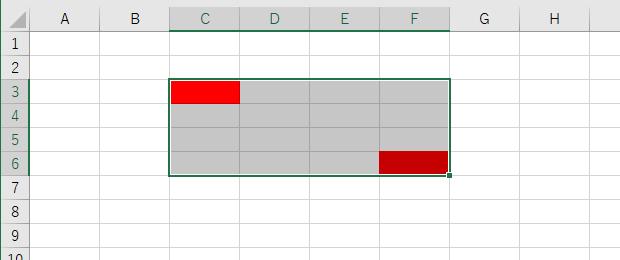 UsedRangeとは:ExcelVBA Rangeオブジェクト